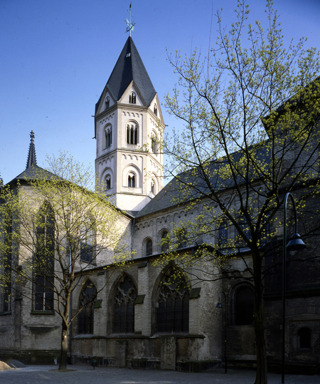 St. Andreas, Nordansicht